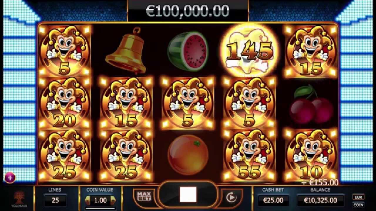 Joker Millions från Yggdrasil Gaming