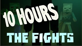 "10 HOUR VERSION ♫ ""The Fights"" - Minecraft Parody of Avicii - The Nights"