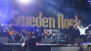 DAN McCAFFERTY, This Flight Tonight, Sweden Rock Festival 2017