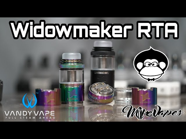 Too Tall? VandyVape Widowmaker RTA By El Mono Vapeador
