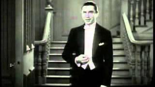 DRACULA (1931)--mirror scene