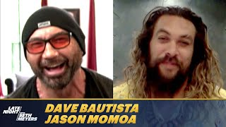Dave Bautista Wants the World to See Jason Momoa's Comedic Side on Screen