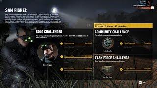 Ghost Recon Wildlands Sam Fisher Special Operation Watchman Solo Challenge WalkThrough