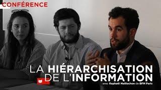Conférence : la hiérarchisation de l'information