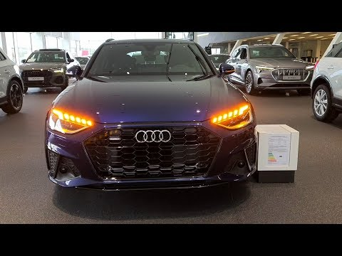 2020 Audi A4 Avant Facelift - Matrix-LED-Scheinwerfer/Blinker