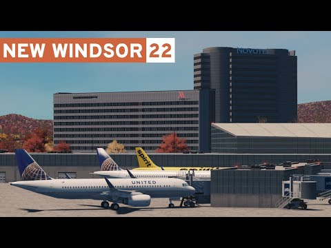 Airport Hotels (+ Road Textures Release!) - Cities Skylines: New Windsor - Part 22 -