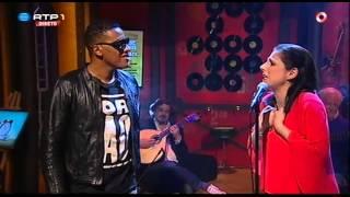 """KÁTIA GUERREIRO e ANSELMO RALPH """"Não Me Toca"""" - Nilton - 5 Para a Meia Noite"""