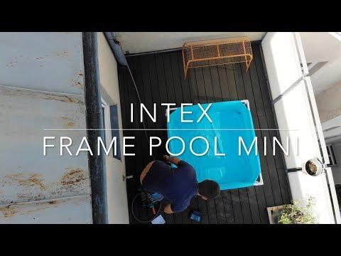 Intex frame pool mini