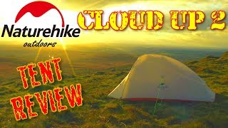 Naturehike Cloud Up 2 Upgrade - Ultralight Hiking, Wild Camping & Backpacking Tent Review
