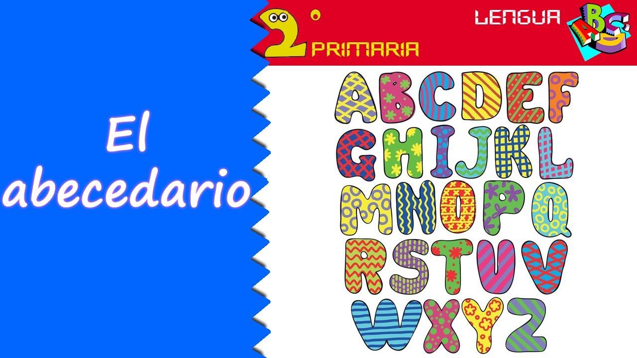 Lengua Castellana. 2º Primaria. Tema 1. El abecedario