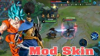 [ King Of Glory ] Mod Skin LoL, Anime - Master Yi, Yasuo, Jinx