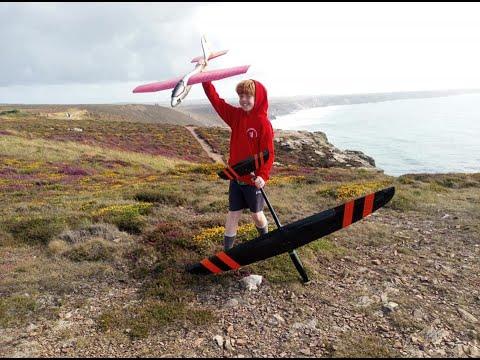jack-flys-lidl-glider-rc-conversion-at-the-slope