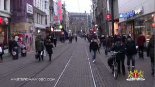 preview picture of video 'Amsterdam Central Station To Rembrandt Square (2.23.13 - Day 968)'