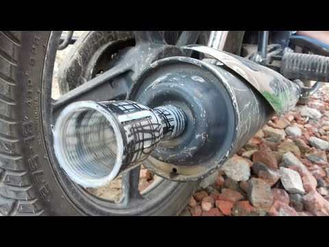 In rs 5 ??? make KTM Duke  exhaust sound silencer just Rs 5