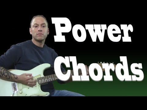 Guitar Chord Lesson - Learn How to Play Power Chords