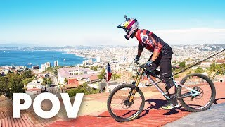 Urban DH over roofs and houses with Brook MacDonald | Red Bull Valparaíso Cerro Abajo 2018