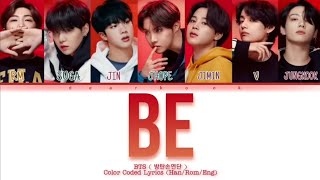 How Would BTS ( 방탄소년단 ) 'BE' New Album Be -Color Coded Lyrics (Han/Rom/Eng) | Fanmade |