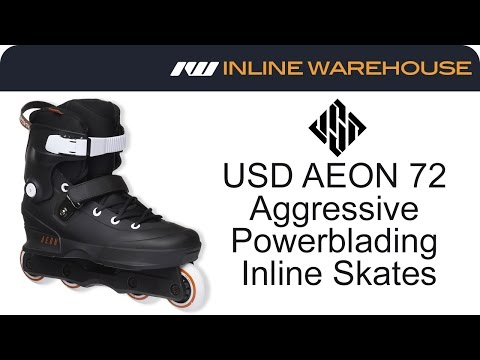 2016 USD AEON 72 Aggressive Inline Skates Review