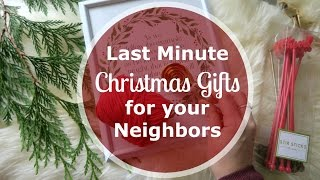 5 Amazing Last Minute Christmas Gift Ideas For Neighbors $5 Or Less!