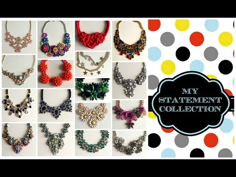 La mia collezione di collane STATEMENT (OMBRETTA)