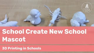 How North Haven PS Students Created School Assembly Mascots with 3D Printing