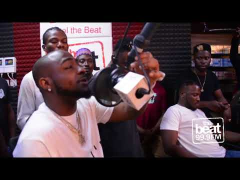 Davido With The DMW Family Stopped By The Morning Rush!