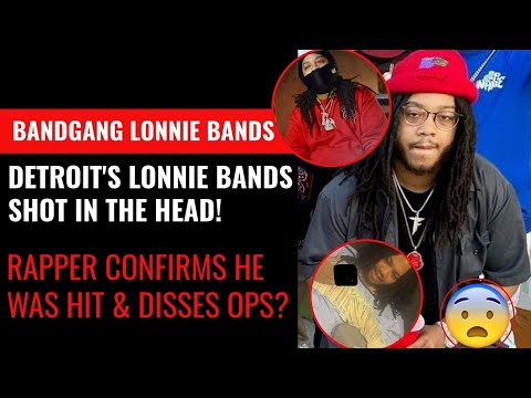 BandGang Lonnie Bands Shot in The Head