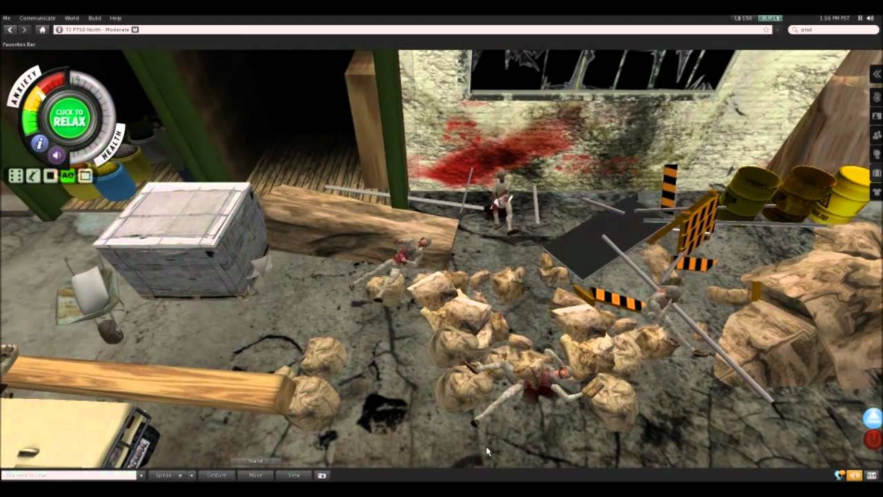 Battling Post Traumatic Stress Disorder With A Virtual Suicide Bombing