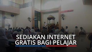 Masjid Darul Huda Nanggalo Kota Padang Sedikan Internet Gratis, Bantu Siswa Belajar Daring