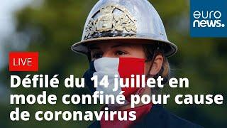 En direct | Défilé du 14 juillet en mode confiné pour cause de coronavirus