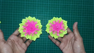 """How To Make Paper Flower  """"Beautiful Origami Flower""""  