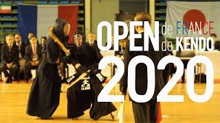 2020 검도 프랑스 오픈 하이라이트 슬로우모션