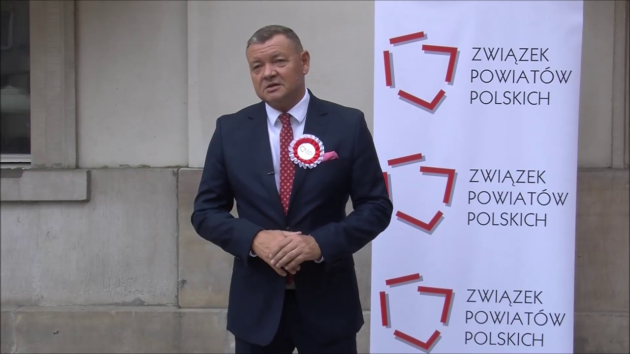 Refleksje starosty Romana Potockiego podczas jubileszu samorządów powiatowych