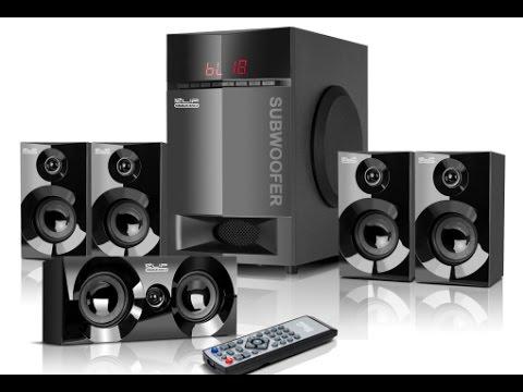 Altavoces Klip Xtreme Mirage  KWS-750 5.1 cine en casa en Ecuador