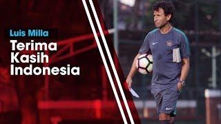 Ucapan Terima Kasih Kembali Muncul dari Luis Milla untuk Suporter Indonesia
