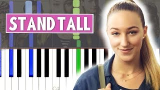 [TALL GIRL] Stand Tall   VOILÀ Ft. Ava Michelle || Synthesia Piano Tutorial