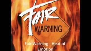 Fair Warning - Heat Of Emotion