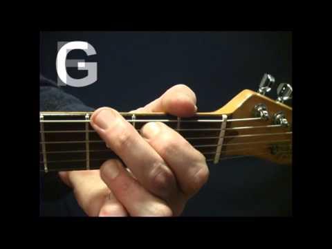 F Chord, Rhythm Guitar Lesson Switching G to F