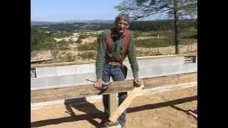 Смотреть онлайн Строительство пола и лестницы в каркасном доме