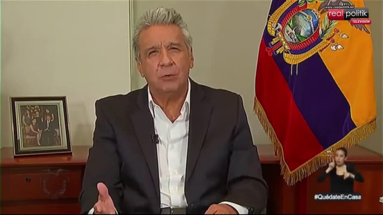 Ecuador: Conferencia de prensa del presidente Lenin Moreno por la situación del coronavirus