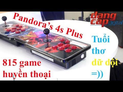 Dangcapdigital.vn - Máy chơi game Pandora's 4s Plus với 815 tựa game huyền thoại!!
