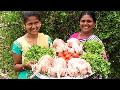 Traditional Full Chicken Biryani | Giant Chicken Biryani Recipe By Smily