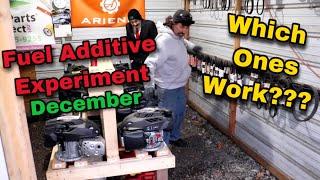 Fuel Additive Experiment - December 2020