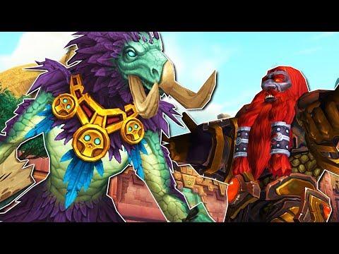 world of warcraft races