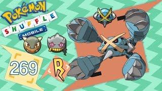 Banette  - (Pokémon) - Pokémon Shuffle Mobile - MEGA-METAGROSS! Kangaskhan y Banette también :v