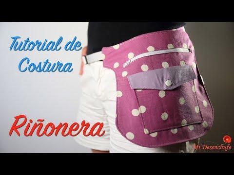 Tutorial de Costura - Como hacer una Riñonera o Bolso de Cadera