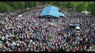 Крестный ход в Иосафатову долину: видеосъемка с воздуха