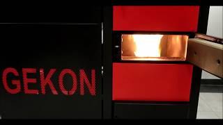 GEKON - první spuštění a zapálení kotle