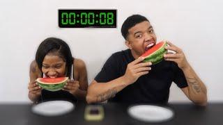 SPEED EATING CHALLENGE!