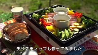 新潟県新発田市「滝谷森林公園」で女子キャンプ